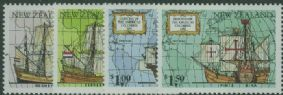 NZ SG1659-62 Great Voyages of Discovery set of 4